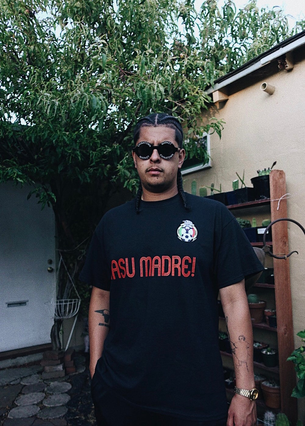Image of Asu Madre! Mexico Tee Black