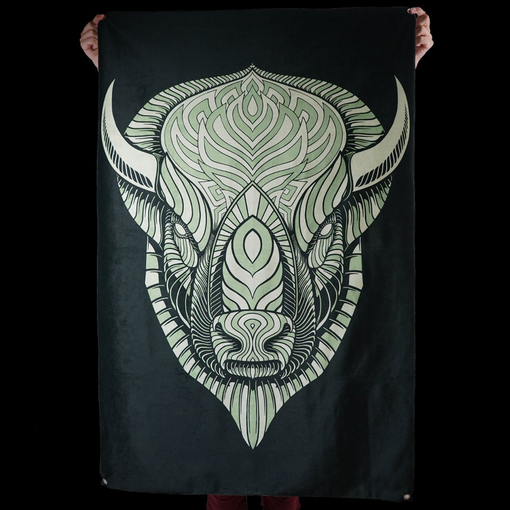 Image of BUFFALO TAPESTRY