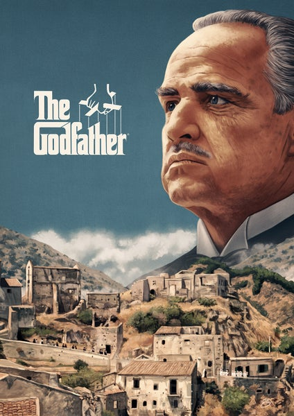 Image of The Godfather A3 (officially licensed artist proof copies)
