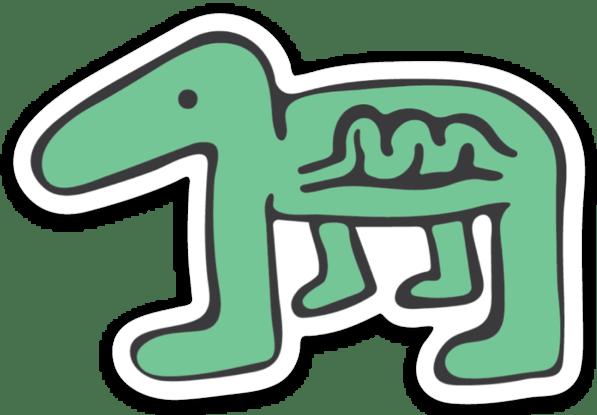 Image of Dino Sticker