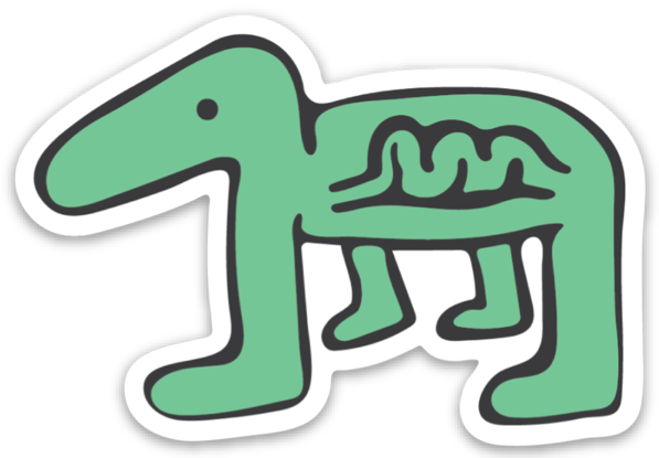 Image of Dino Sticker