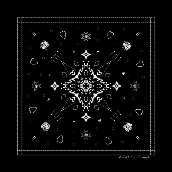 Image of Black Magic Bandana
