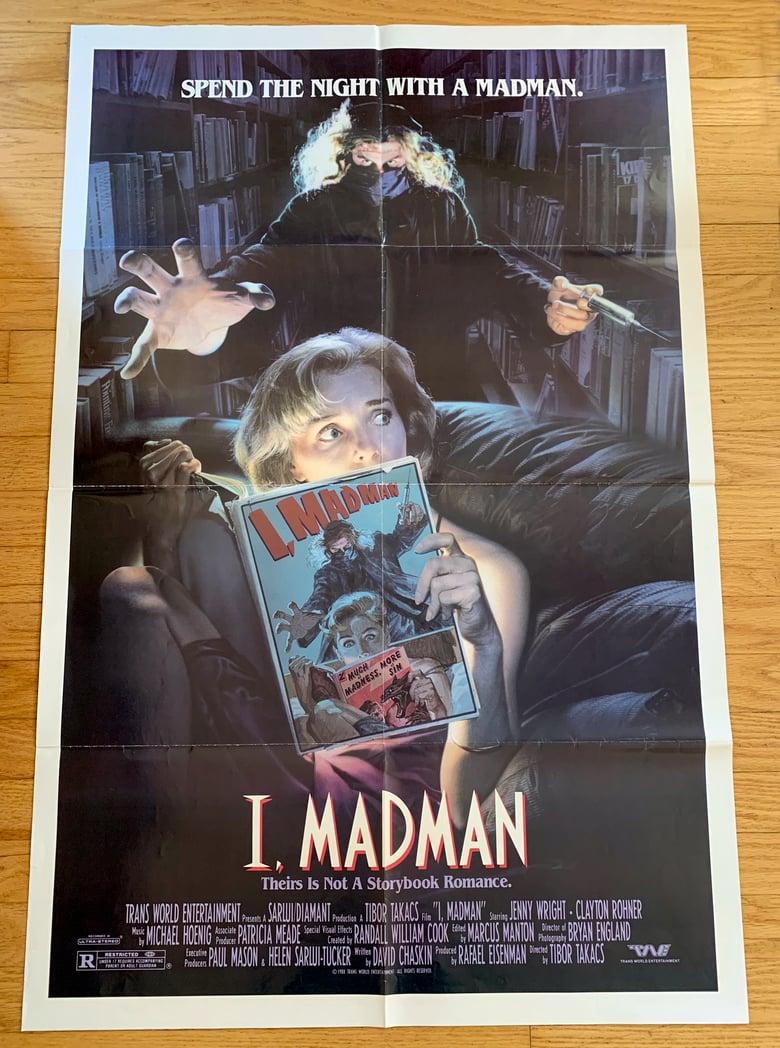 Image of 1989 I, MADMAN Original U.S. One Sheet Movie Poster