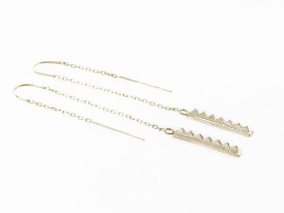 Image of Dangle Blade Earrings