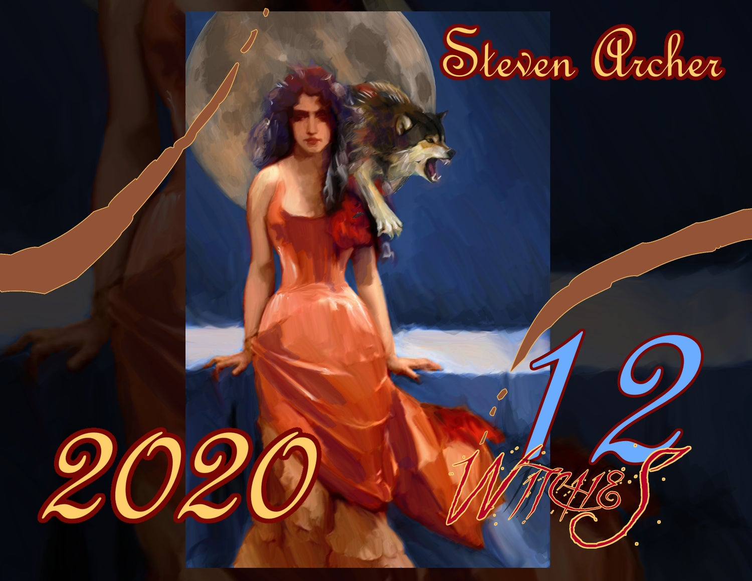 Witches 2020 calendar pre-order