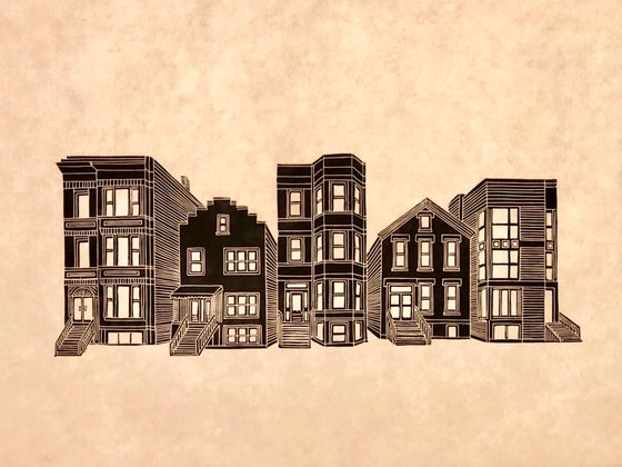Image of Chicago two/three-flat sampler