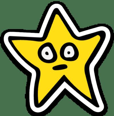 Image of Star Sticker