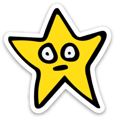 Image of Star Sticker