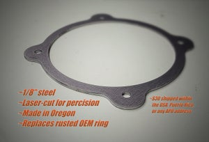 Image of Nissan 180sx/240sx S13/14/15 & Skyline R32/33/34 shift boot retainer ring replacement