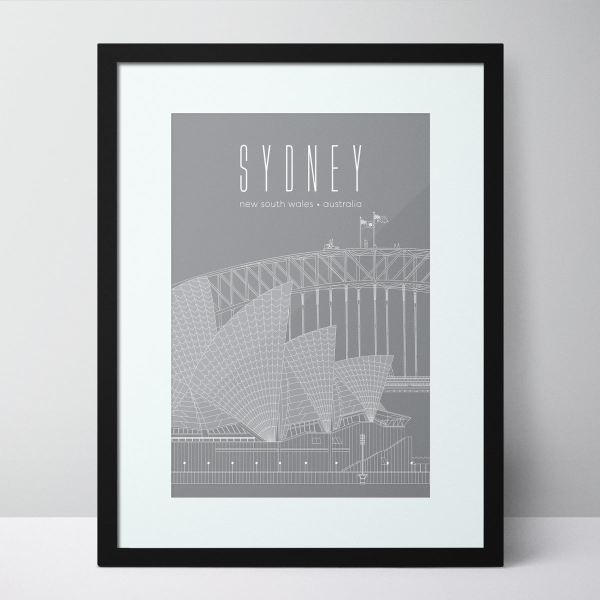Image of Sydney Opera House and Harbour Bridge