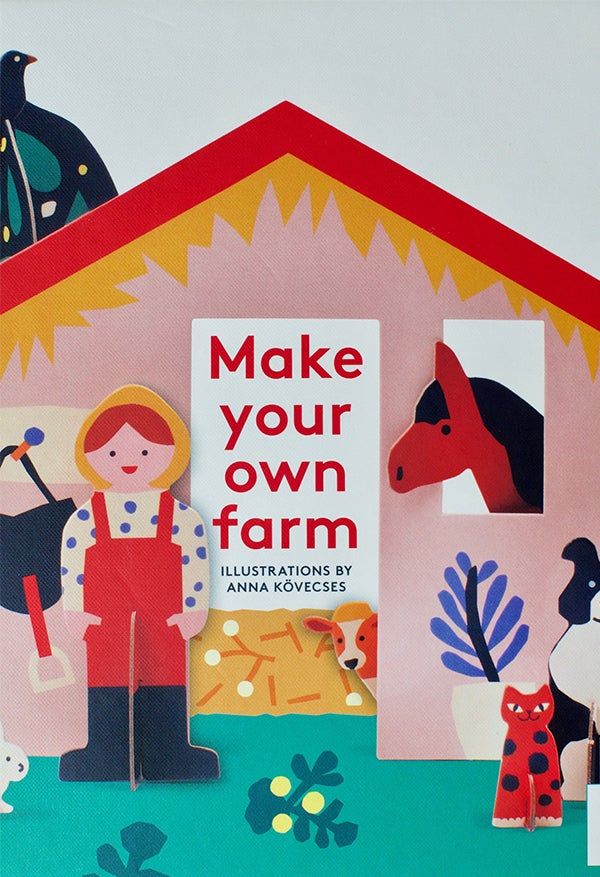 Image of Make Your Own Farm - Paper Toy