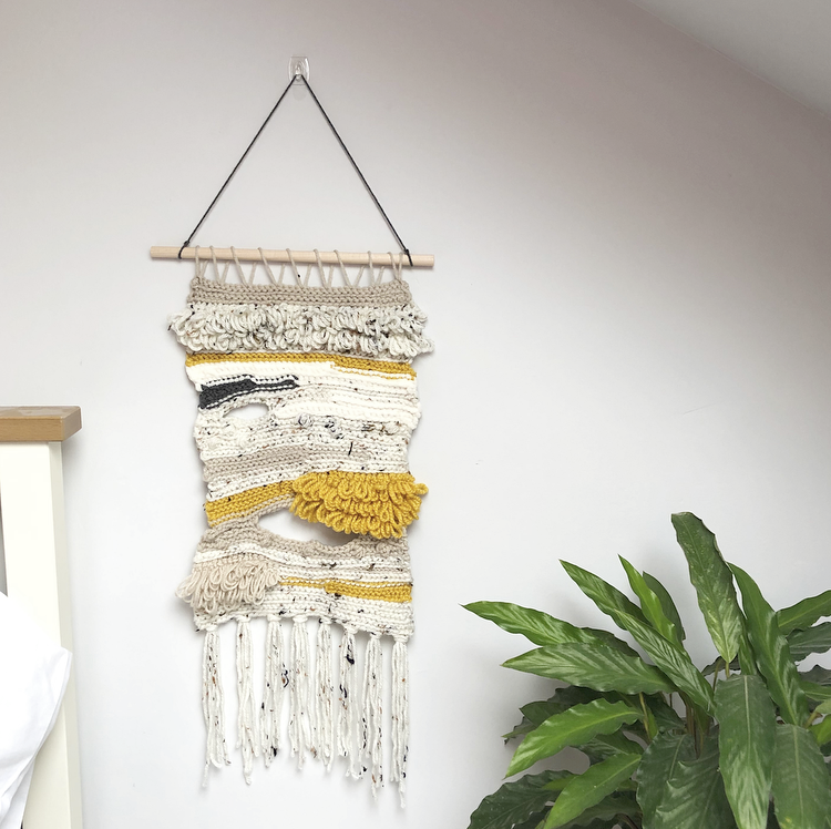 Image of Lemon Drizzle Wall Hanging
