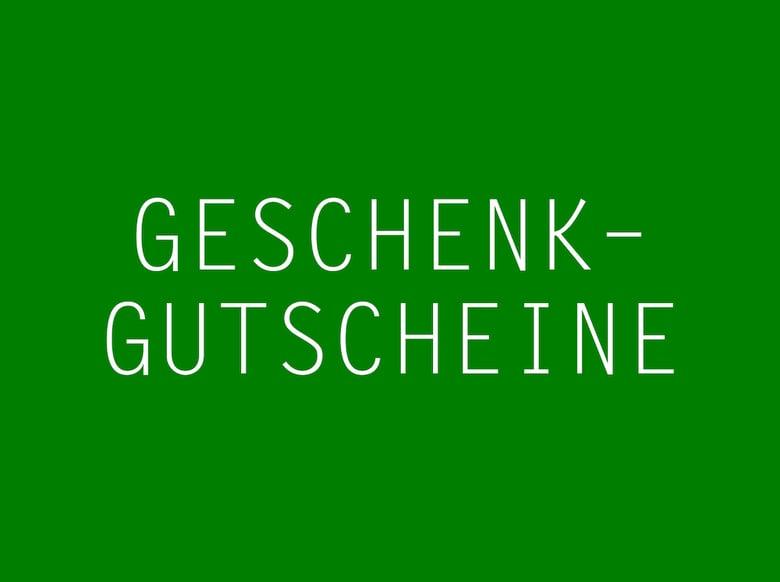 Image of Gutscheine