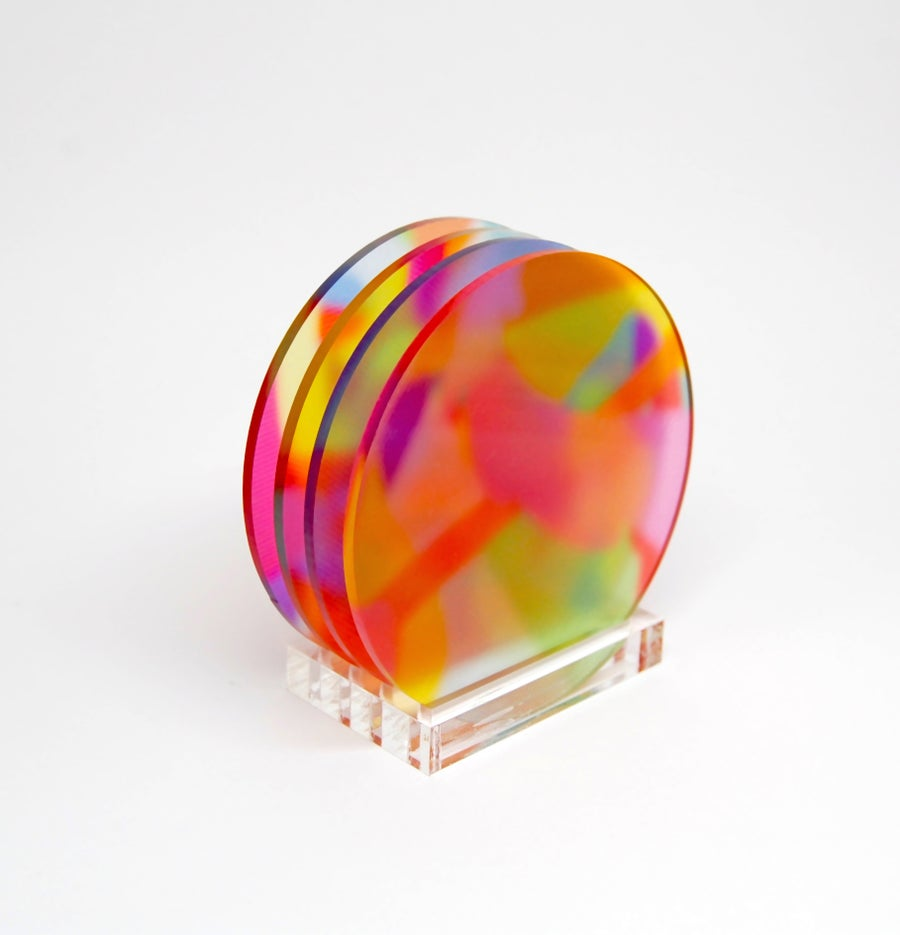 Image of Translucent coasters