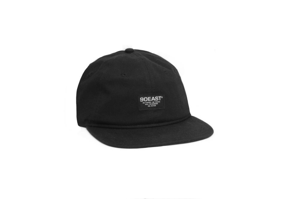 Image of 90East BDU Unstructured Hat Black