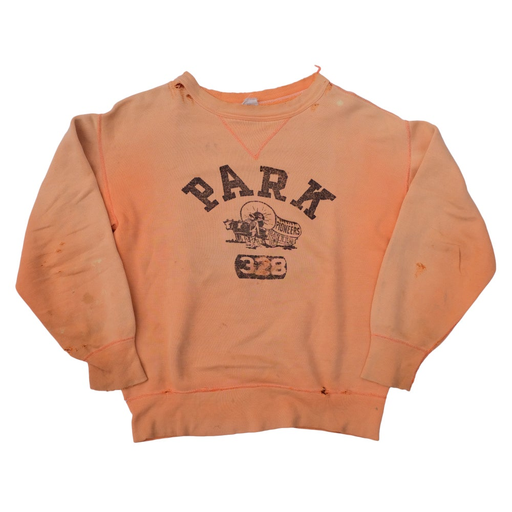 Image of 50s Vintage Single V Park Pioneers Sweatshirt