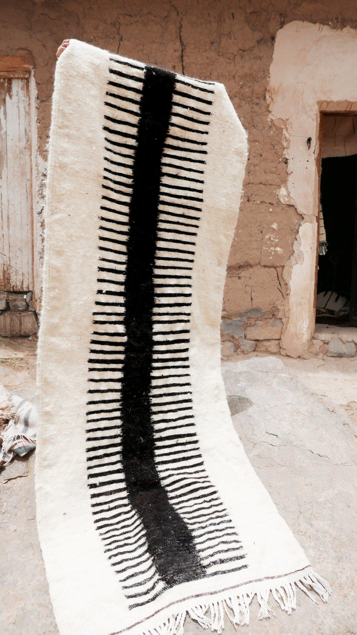 Image of Moroccan Kilim Rug - Minimal Runner