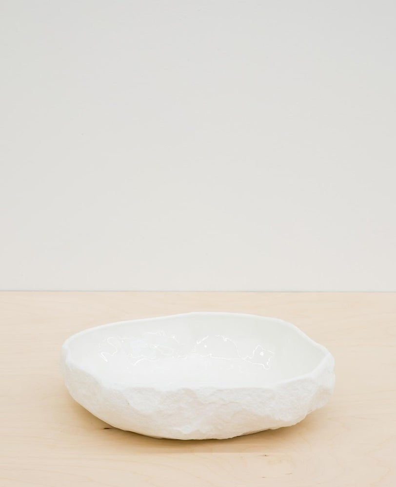 Image of Max Lamb - Crockery large flat bowl, White - 157 € - 15 %