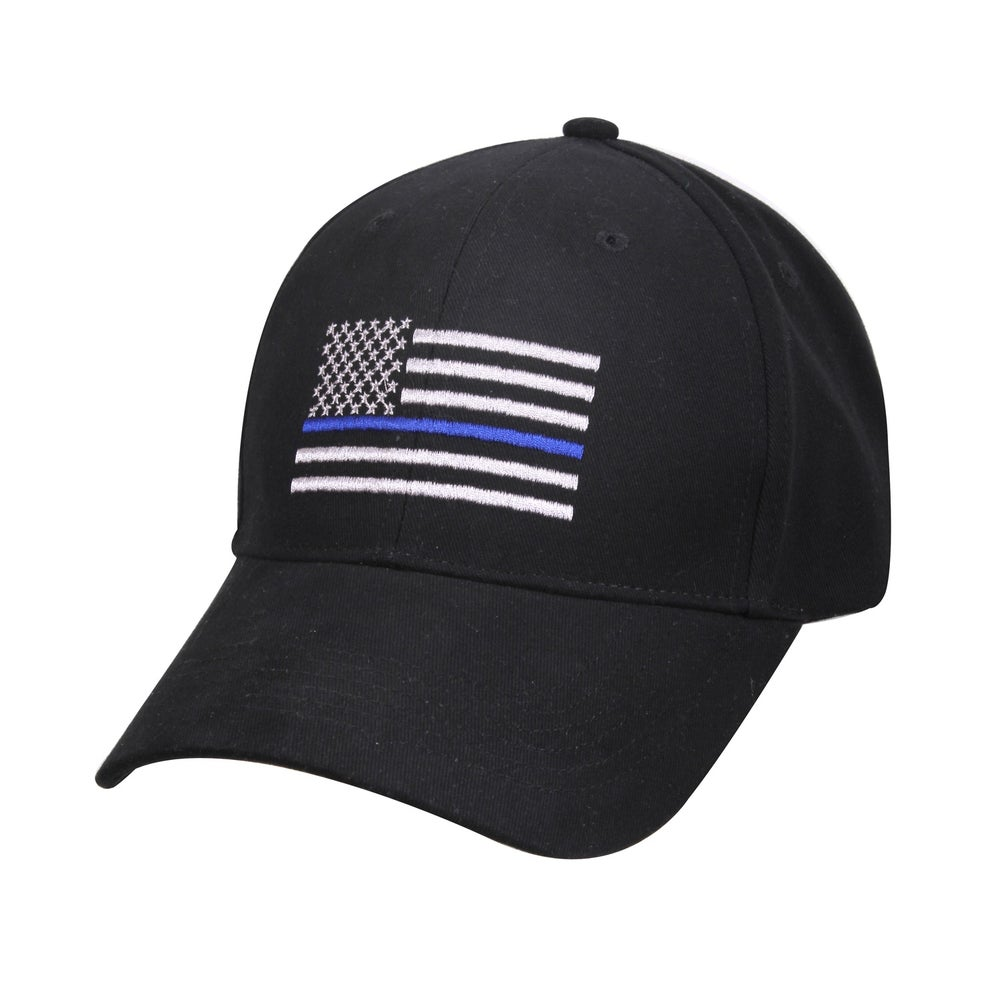 Image of Thin Blue Line Flag Baseball Cap