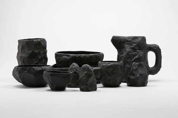 Image of Max Lamb - Complete Crockery Set - Black - 904 € - 25 % OFF