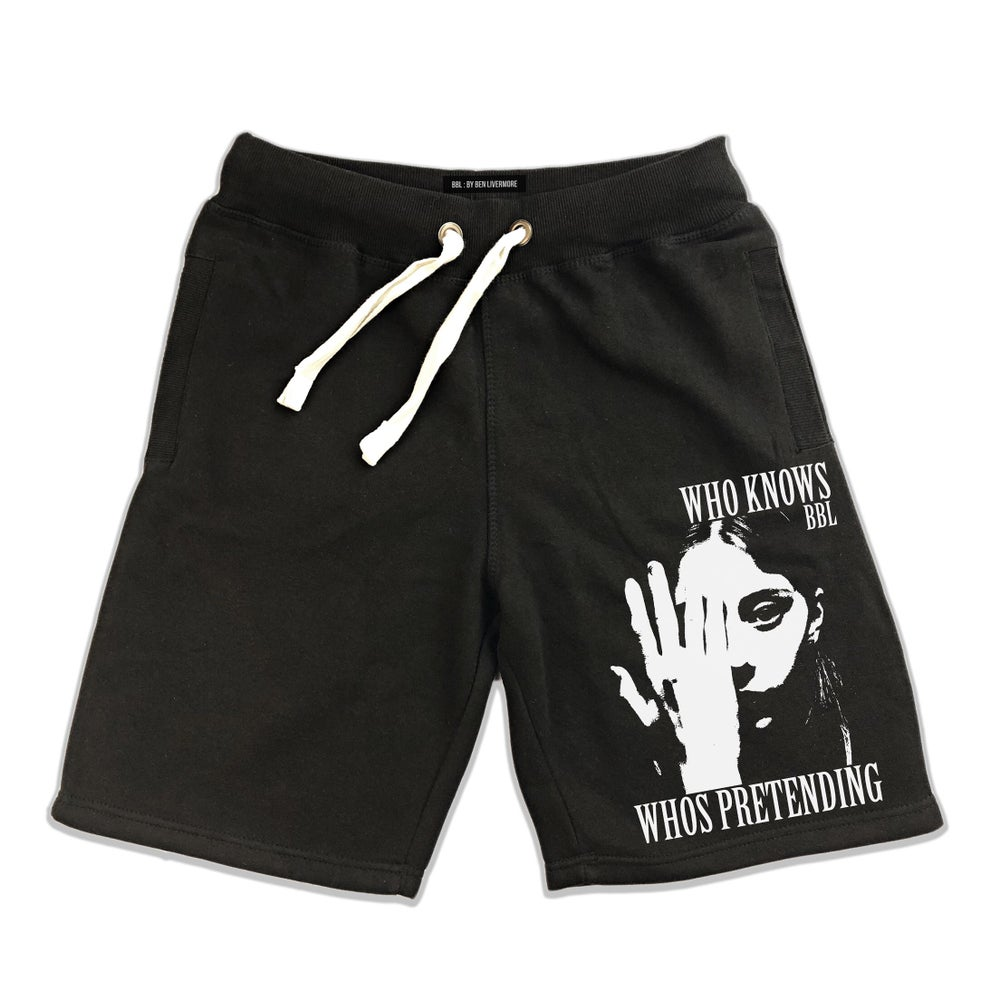 Image of Who Knows Jersey Shorts
