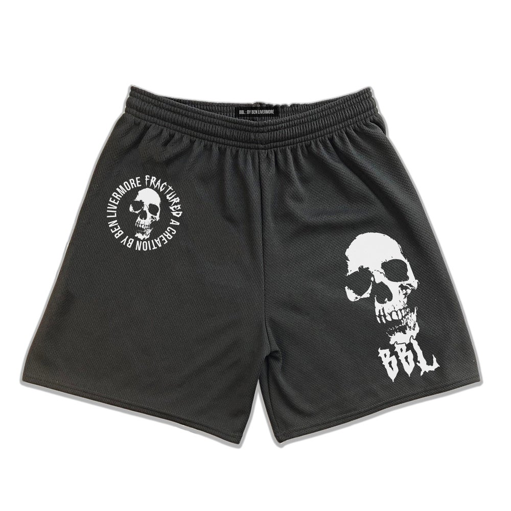 Image of Fractured Mesh Shorts