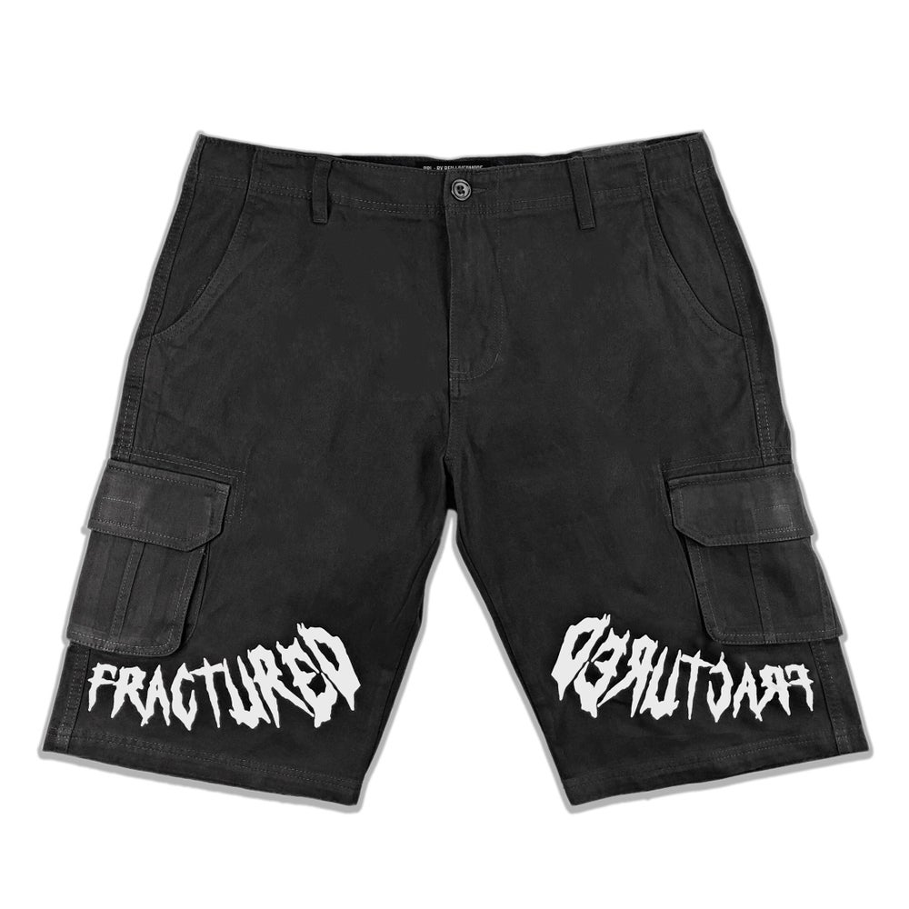 Image of Fractured Cargo Shorts