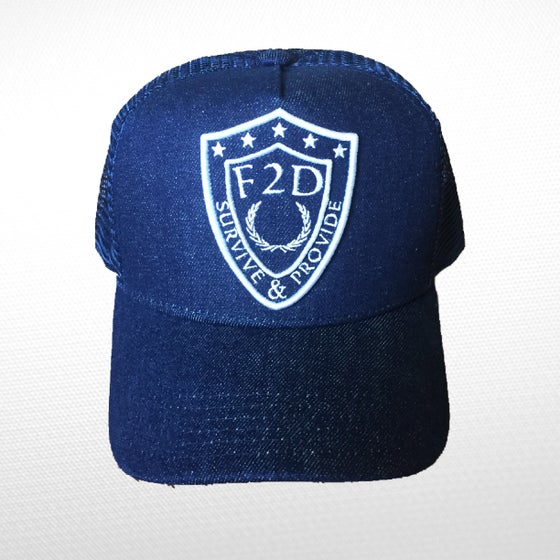 Image of F2D DENIM x MESH TRUCKER SNAPBACK