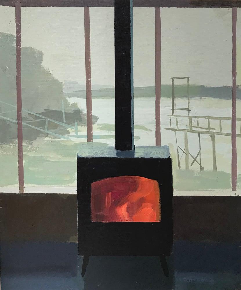 Image of Boathouse stove (study)