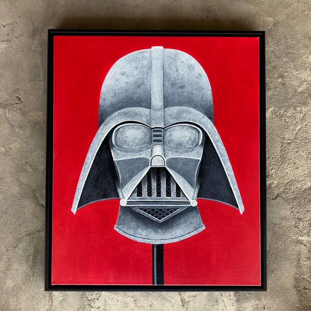 Image of Stone Darth Vader Mask