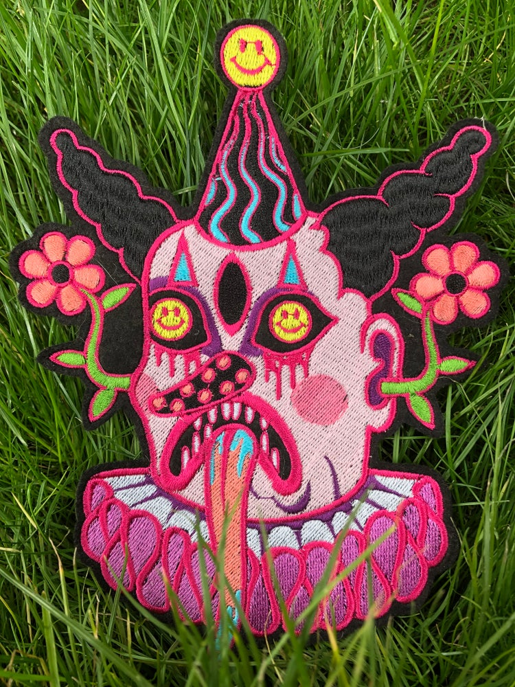 Image of 🤡☹️SeNd iN tHe FrOwNs🤡☹️ BaCK  PaTcH