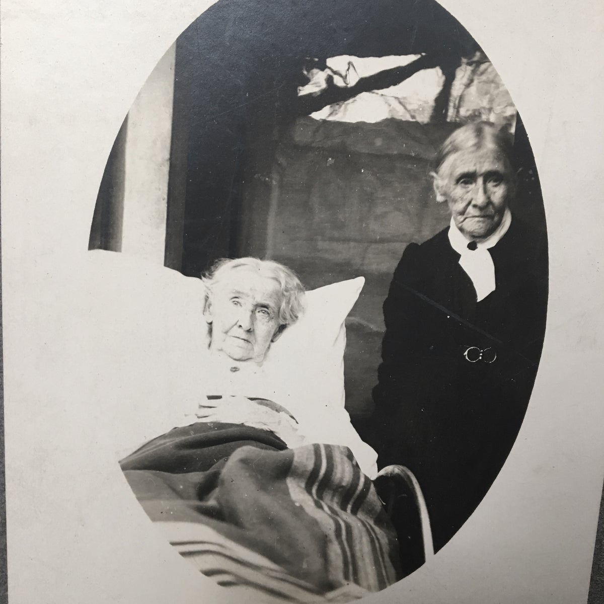 Image of Double Death Bed Portrait