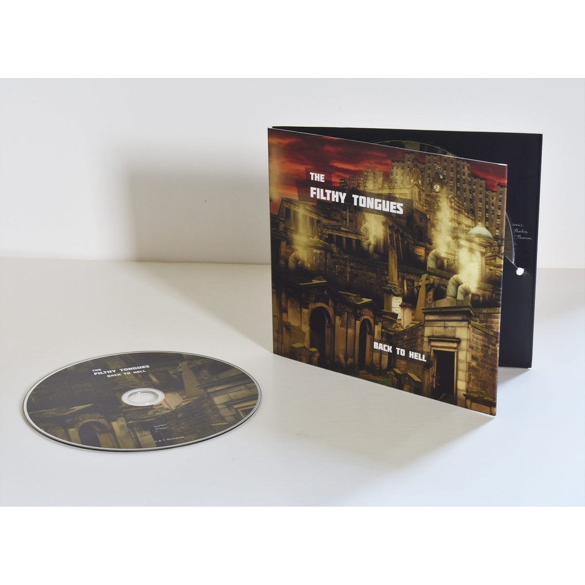 Image of The Filthy Tongues - Back to Hell (CD)