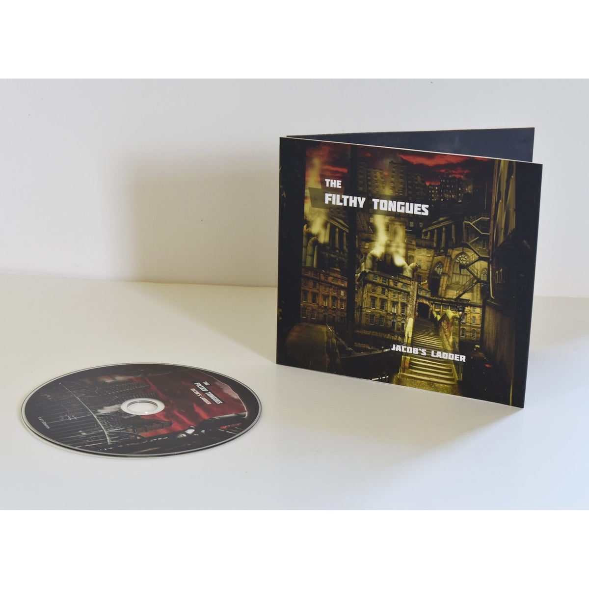 Image of The Filthy Tongues - Jacobs Ladder (CD)