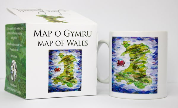 Image of Wales Ceramic mug