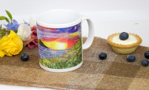 Image of Sunset Ceramic Mug