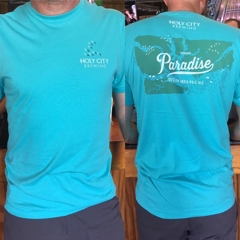 Paradise T-Shirt - Tahiti Blue