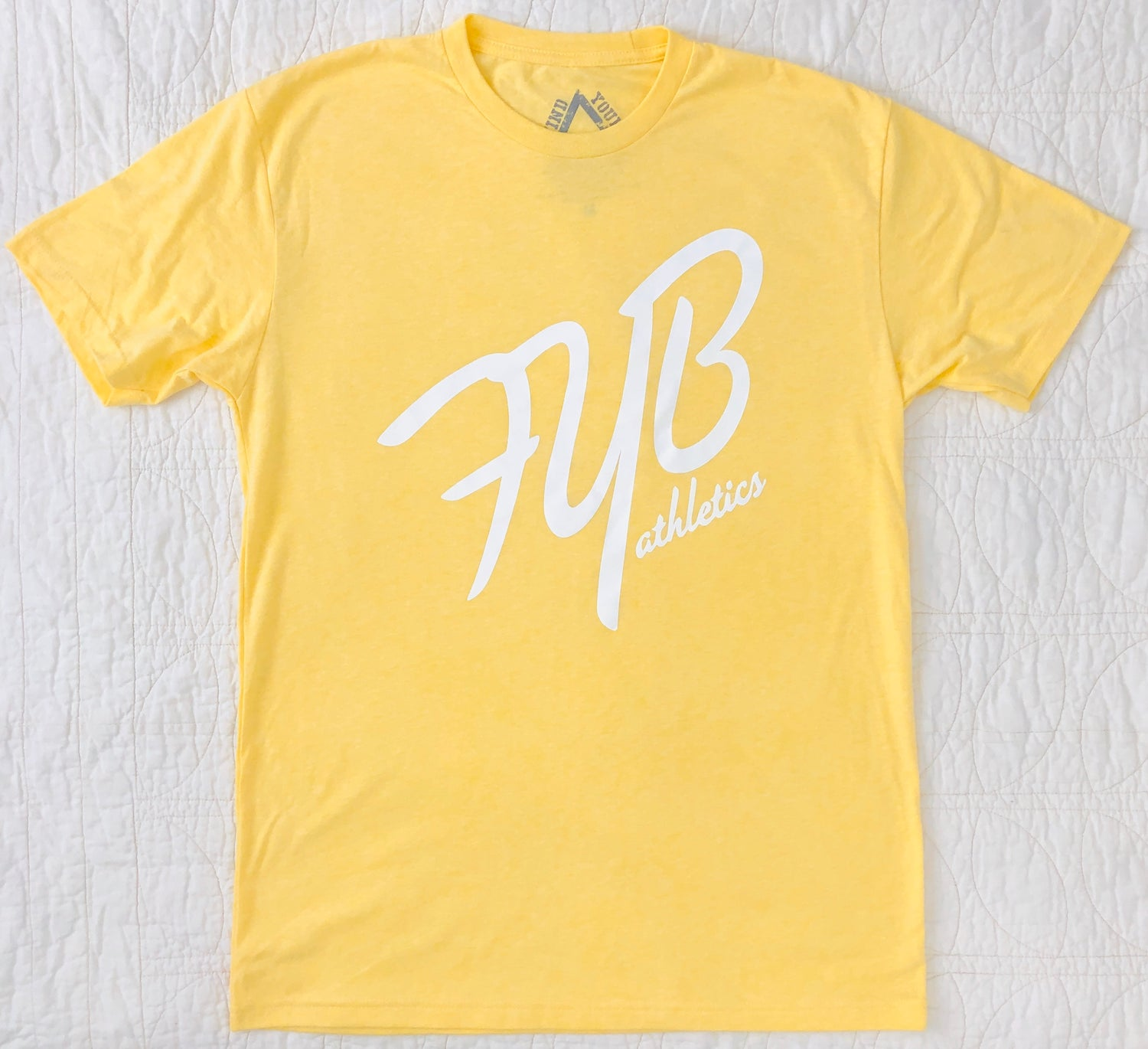 "Image of ""45°"" MENS CREW - BANANA CREME"