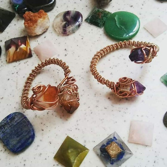 Image of Spiral Energy Bracelets