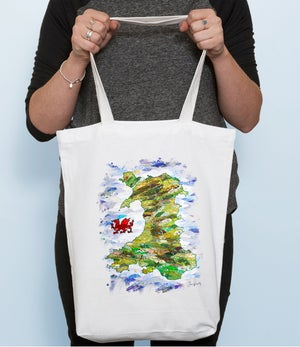 Image of Map of Wales Bag
