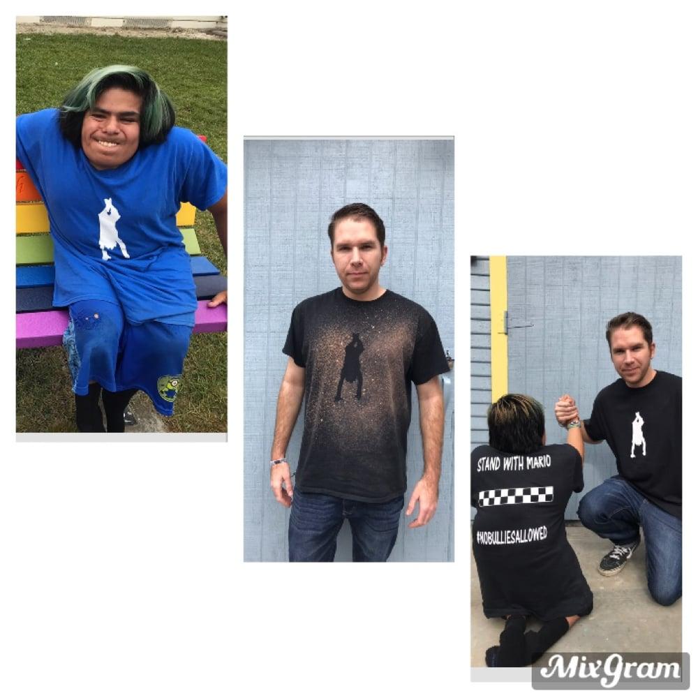 Image of Unisex crew neck tee shirt