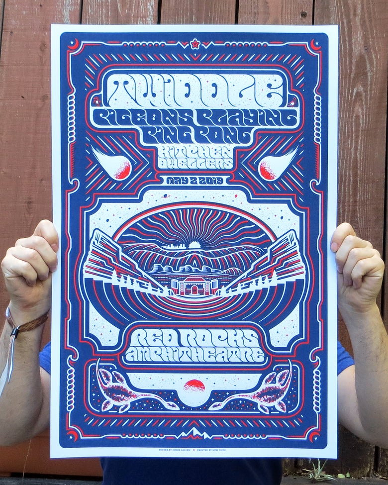 Image of Twiddle/PPPP Red Rocks 2019 VIP