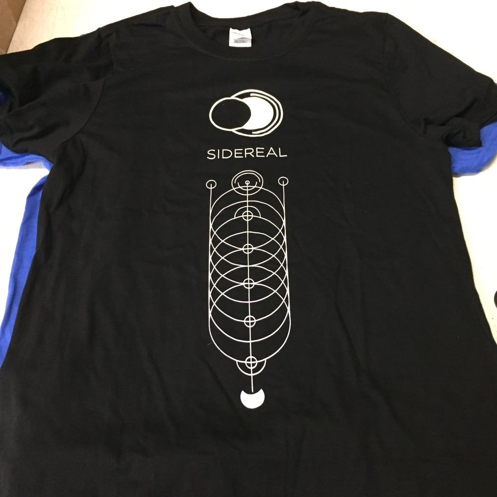 Image of sidereal / label promo t-shirt