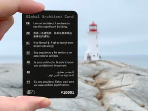 Image of Global Architect Card