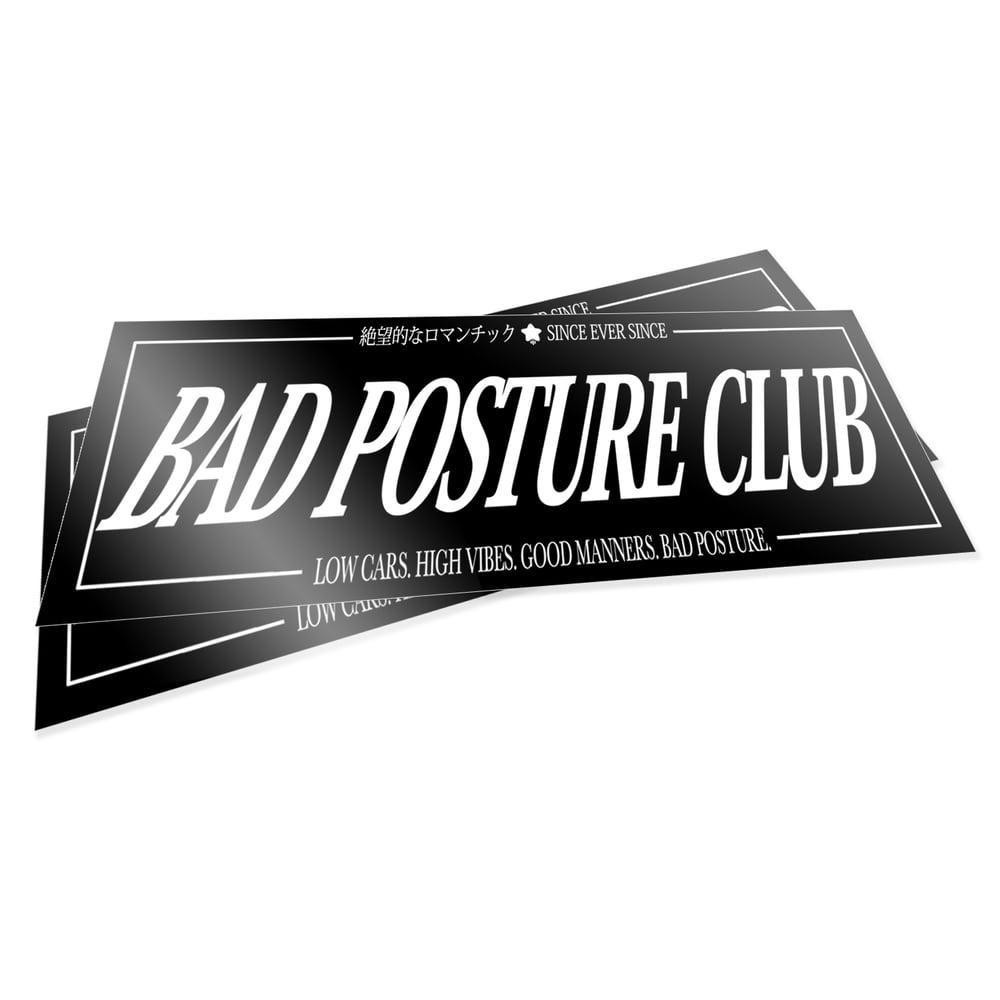 Image of BAD POSTURE CLUB v1