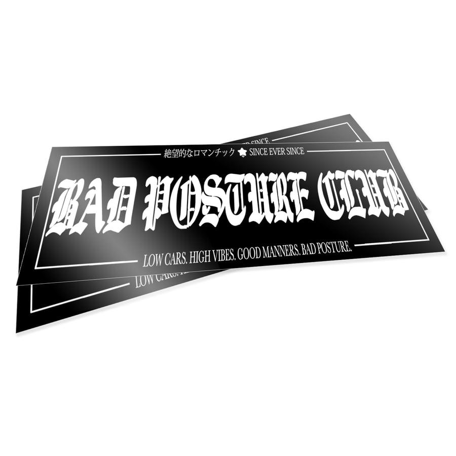 Image of BAD POSTURE CLUB Ver.2 (PREORDER)