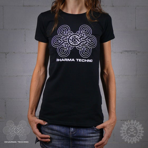 Image of T-SHIRT DHARMA TECHNO GIRLY