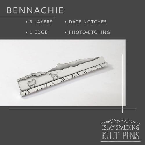 Image of Edged Landscape Kilt Pins - bespoke