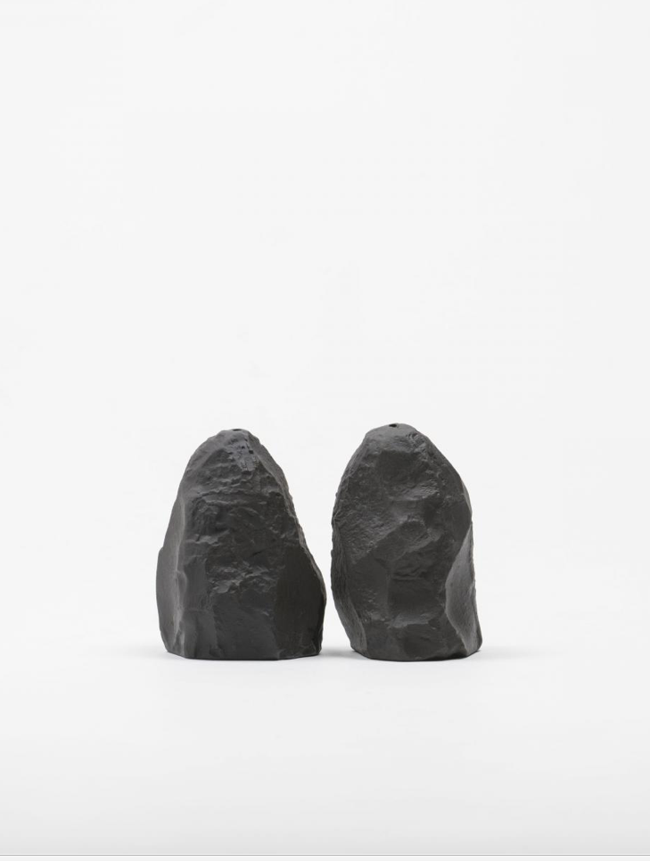 Image of Max Lamb - Crockery Salt & Pepper, Black