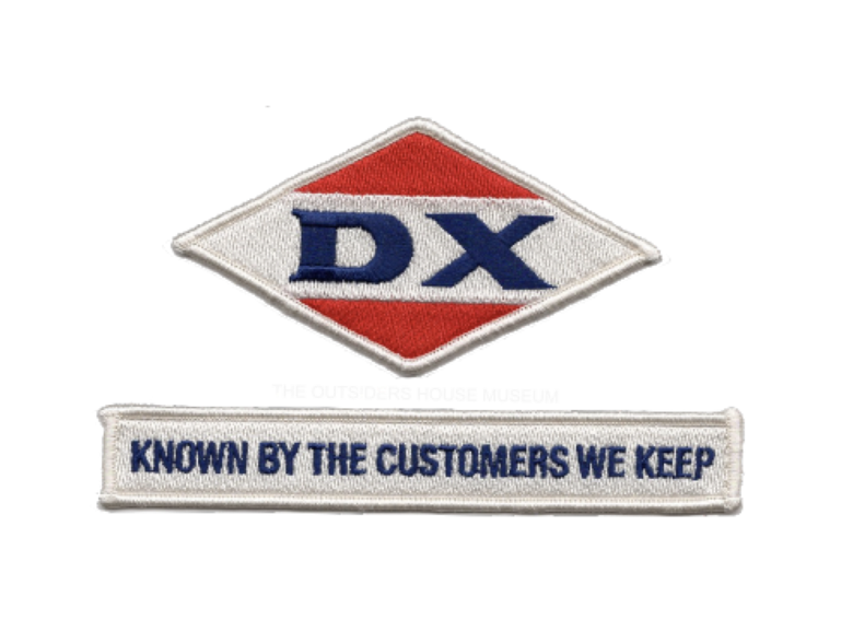 Image of Exact Replica DX Service Station Patch Set.